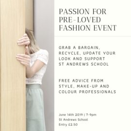 Passion for Pre-loved Fashion Event